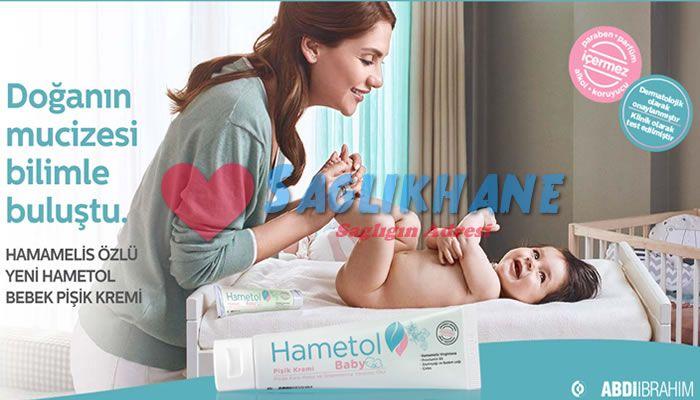 Hametol bebek pişik kremi